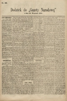 Gazeta Narodowa. 1896, nr251