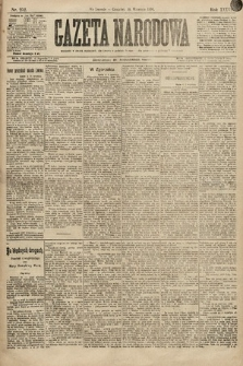 Gazeta Narodowa. 1896, nr252