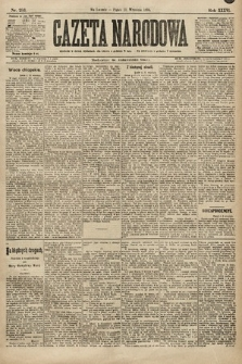 Gazeta Narodowa. 1896, nr253