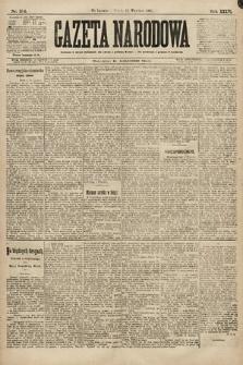 Gazeta Narodowa. 1896, nr254