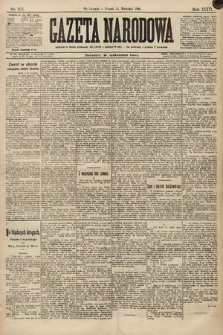 Gazeta Narodowa. 1896, nr257