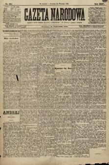 Gazeta Narodowa. 1896, nr262