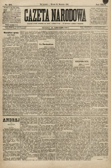 Gazeta Narodowa. 1896, nr264