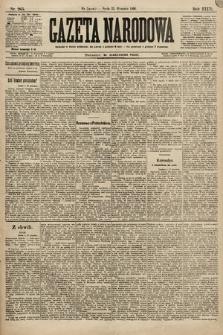 Gazeta Narodowa. 1896, nr265