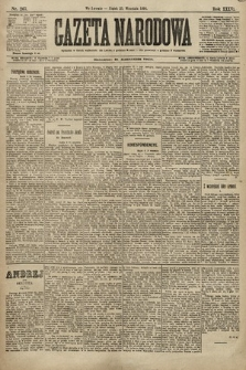 Gazeta Narodowa. 1896, nr267