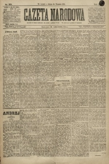 Gazeta Narodowa. 1896, nr268
