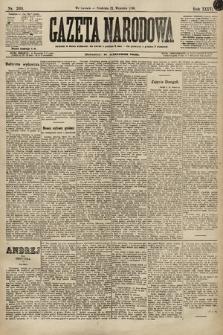 Gazeta Narodowa. 1896, nr269