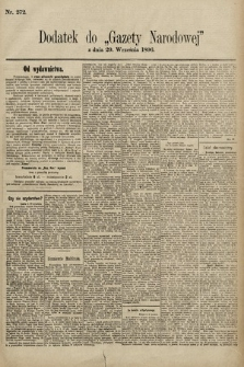Gazeta Narodowa. 1896, nr272