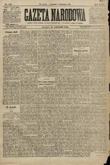 Gazeta Narodowa. 1896, nr273