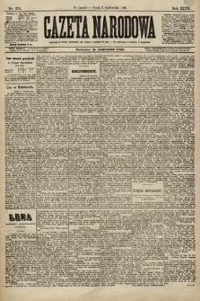 Gazeta Narodowa. 1896, nr274