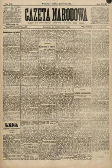Gazeta Narodowa. 1896, nr275