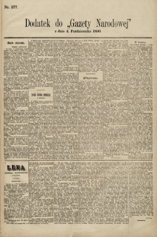 Gazeta Narodowa. 1896, nr277