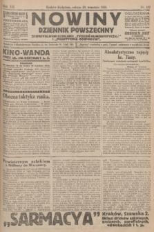Nowiny : dziennik powszechny. R.12 [i.e.11], 1913, nr216