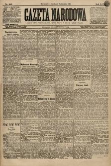 Gazeta Narodowa. 1896, nr303