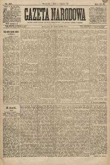 Gazeta Narodowa. 1896, nr307
