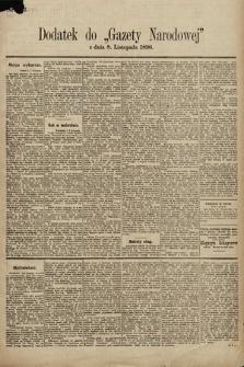Gazeta Narodowa. 1896, nr312