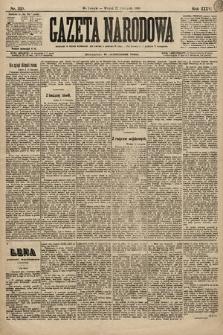 Gazeta Narodowa. 1896, nr320