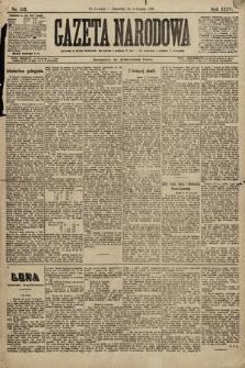 Gazeta Narodowa. 1896, nr322