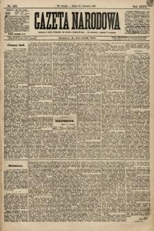 Gazeta Narodowa. 1896, nr323