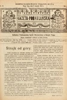 Gazeta Podhalańska. 1922, nr32
