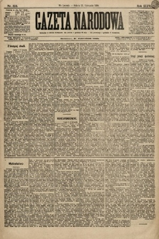 Gazeta Narodowa. 1896, nr324