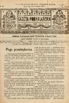 Gazeta Podhalańska. 1922, nr36