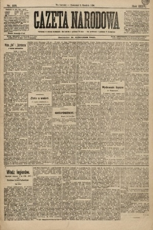 Gazeta Narodowa. 1896, nr336