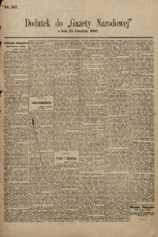 Gazeta Narodowa. 1896, nr347