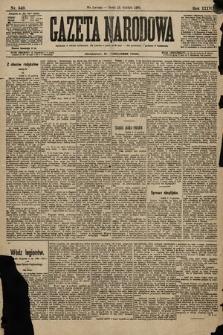 Gazeta Narodowa. 1896, nr349
