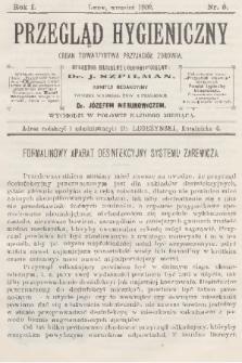Przegląd Hygieniczny : organ Towarzystwa Przyjaciół Zdrowia. R.1, 1902, nr9 + wkładka