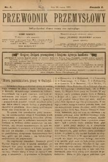 Przewodnik Przemysłowy. R.10, 1905, nr5