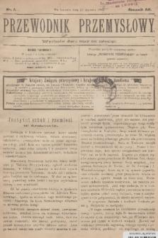 Przewodnik Przemysłowy. R.12, 1907, nr1