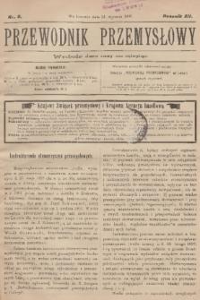 Przewodnik Przemysłowy. R.12, 1907, nr2