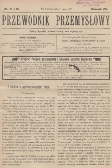 Przewodnik Przemysłowy. R.12, 1907, nr11-12