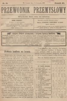 Przewodnik Przemysłowy. R.12, 1907, nr19