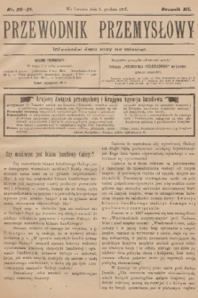Przewodnik Przemysłowy. R.12, 1907, nr20-21