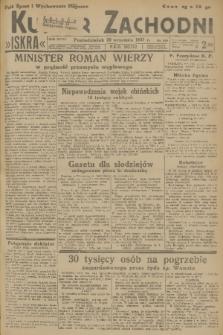 Kurjer Zachodni Iskra. R.28, 1937, nr259