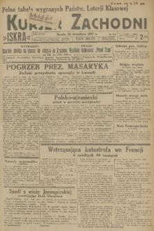 Kurjer Zachodni Iskra. R.28, 1937, nr261