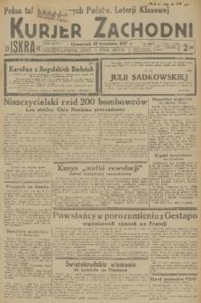 Kurjer Zachodni Iskra. R.28, 1937, nr262