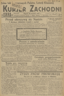 Kurjer Zachodni Iskra. R.28, 1937, nr263