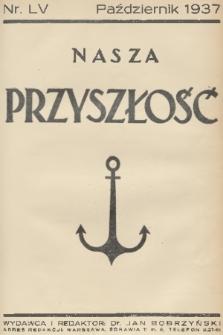 Nasza Przyszłość. 1937, Tom55