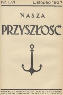 Nasza Przyszłość. 1937, Tom56
