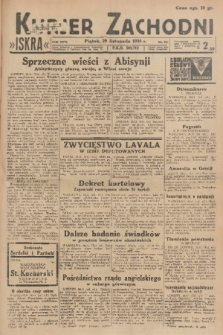 Kurjer Zachodni Iskra. R.26, 1935, nr327
