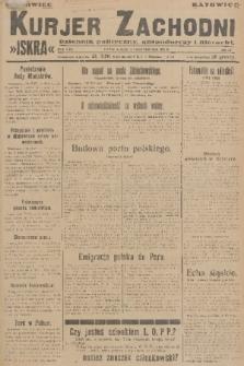 Kurjer Zachodni Iskra : dziennik polityczny, gospodarczy i literacki. R.17, 1926, nr229