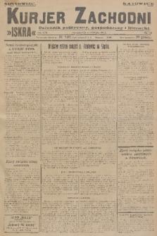 Kurjer Zachodni Iskra : dziennik polityczny, gospodarczy i literacki. R.17, 1926, nr262