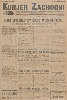 Kurjer Zachodni Iskra : dziennik polityczny, gospodarczy i literacki. R.17, 1926, nr289
