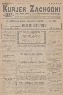 Kurjer Zachodni Iskra : dziennik polityczny, gospodarczy i literacki. R.17, 1926, nr312