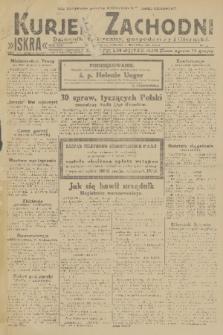 Kurjer Zachodni Iskra : dziennik polityczny, gospodarczy i literacki. R.22, 1931, nr2