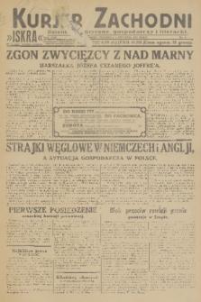 Kurjer Zachodni Iskra : dziennik polityczny, gospodarczy i literacki. R.22, 1931, nr3