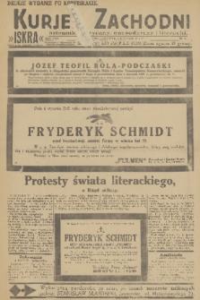 Kurjer Zachodni Iskra : dziennik polityczny, gospodarczy i literacki. R.22, 1931, nr5 [po konfiskacie]